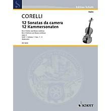 Schott Music 12 Trio Sonatas Op. 2, Nos. 1-3 (Score and Parts) Schott Series Composed by Arcangelo Corelli