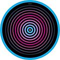 Glowtronics 12 in. UV-activated Circles Glow DJ Slipmat thumbnail
