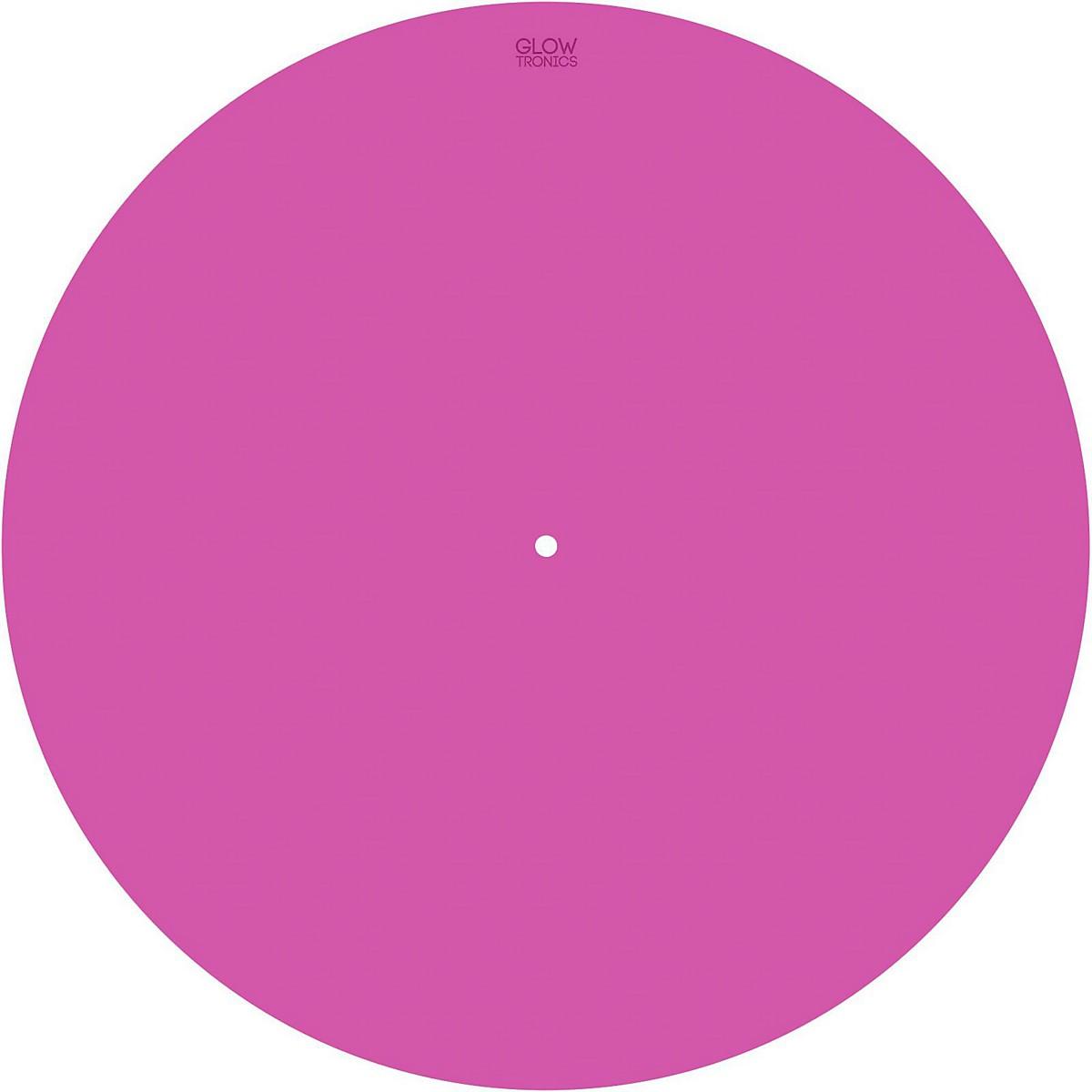 Glowtronics 12 in. UV-activated Pink Glow DJ Slipmat