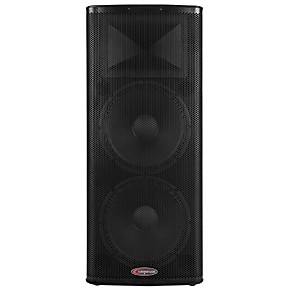 harbinger 1200w dual 15 powered speaker with bbe processing guitar center. Black Bedroom Furniture Sets. Home Design Ideas