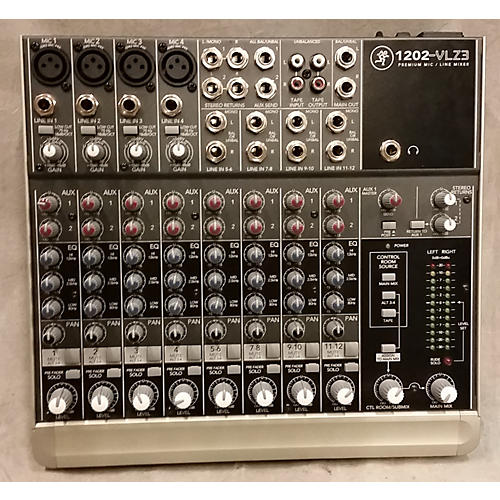 Mackie 1202VLZ3 Unpowered Mixer