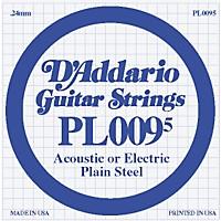 D'addario Plain Steel Single Gauge Acoustic  ...