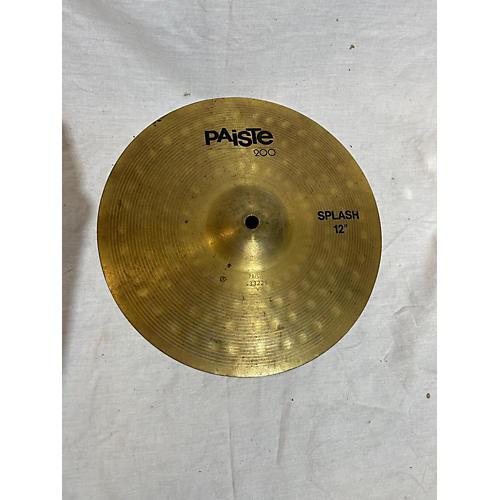 Paiste 12in 200 Splash Cymbal