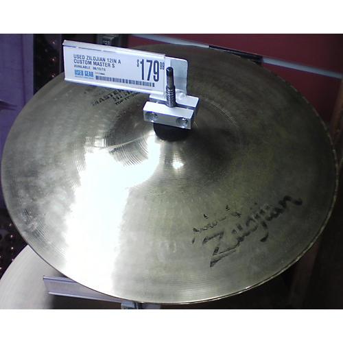 Zildjian 12in A Custom Master Sound Hi Hat Pair Cymbal