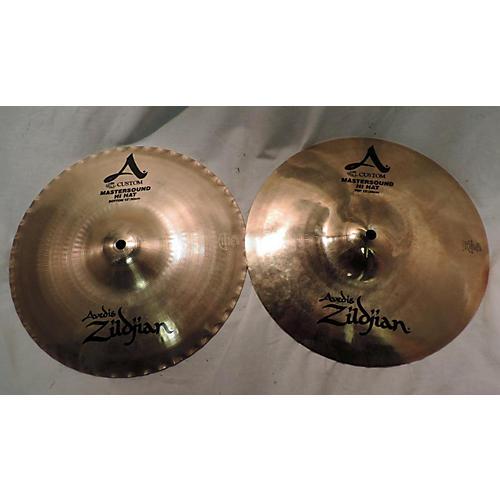 Zildjian 12in A Custom Mastersound Hi Hat Pair Cymbal