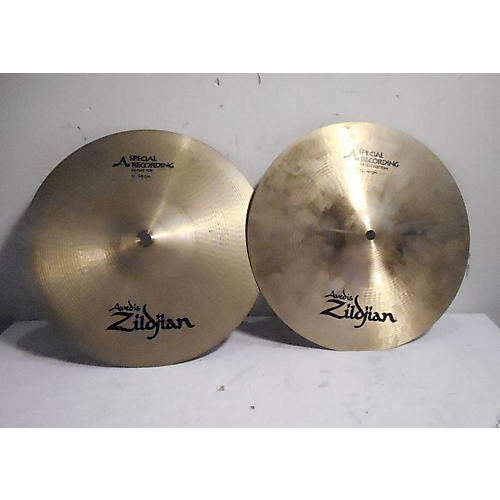 Zildjian 12in A Series Spec Rec Hi Hat Pair Cymbal