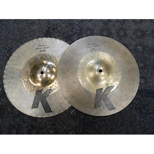 Zildjian 13.25in K Custom Hybrid Hi Hat Pair Cymbal