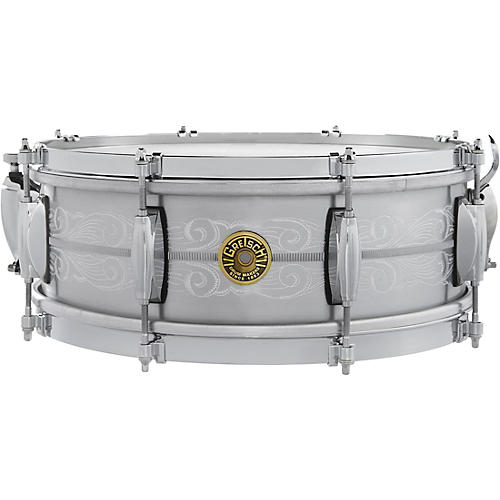 Gretsch Drums 135th Anniversary Solid Aluminum Snare Drum