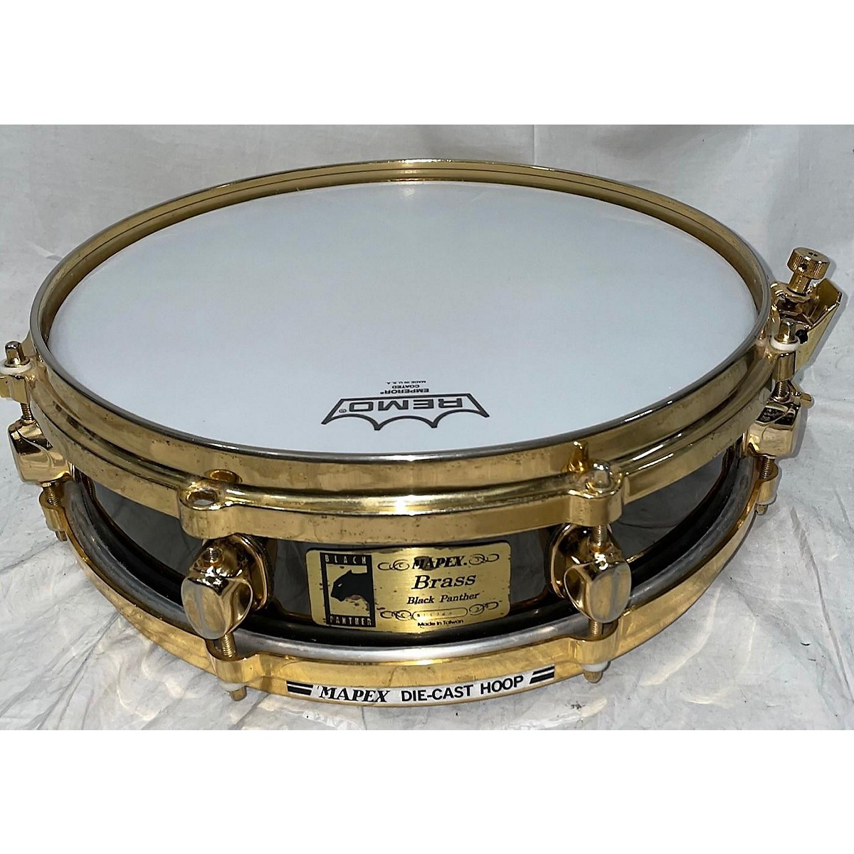 Mapex 13X5 Black Panther Brass Drum