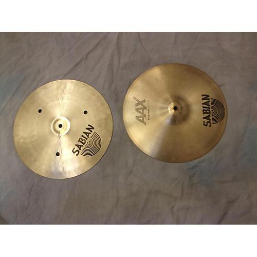 Sabian 13in AAX Fast Hi Hat Pair Cymbal