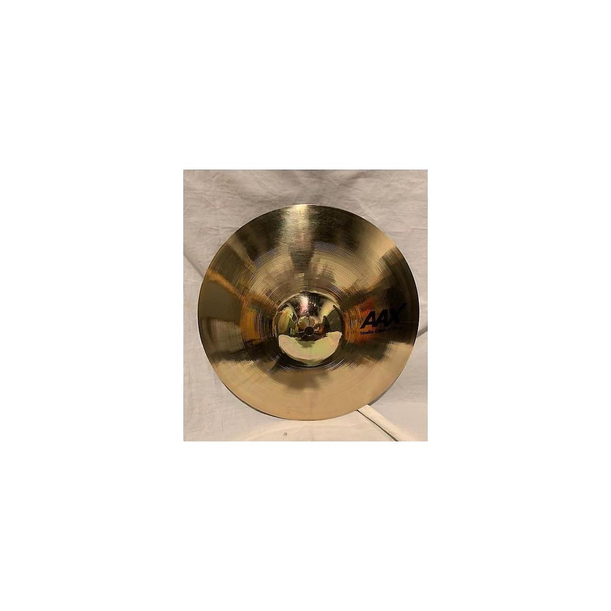 Sabian 13in AAX Thin Studio Crash Cymbal