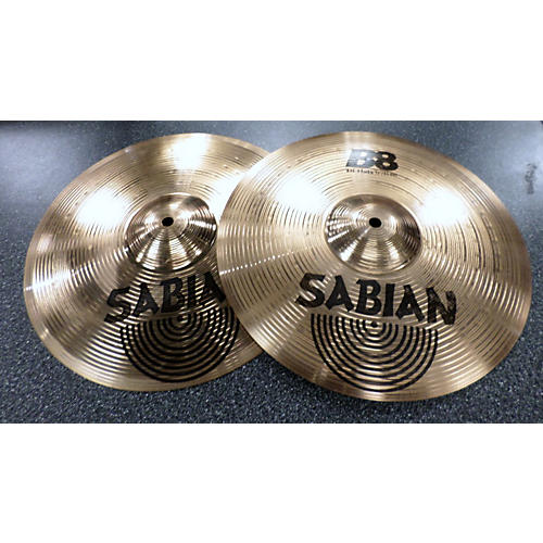 Sabian 13in B8 Hi Hat Pair Cymbal