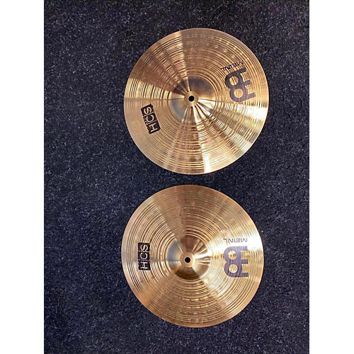 used meinl 13in hcs hi hat pair cymbal 31 guitar center. Black Bedroom Furniture Sets. Home Design Ideas