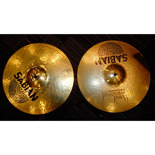 Sabian 13in HH BRIGHT HATS PAIR Cymbal