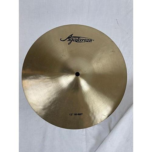 Agazarian 13in HI-HATS Cymbal