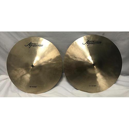 Agazarian 13in Hi Hats Cymbal