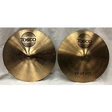 Tosco 13in Hip Hop Hats Cymbal