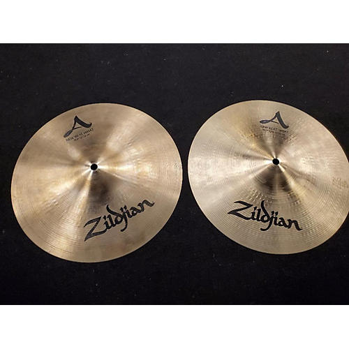 used zildjian 13in new beat hi hat pair cymbal 31 guitar center. Black Bedroom Furniture Sets. Home Design Ideas