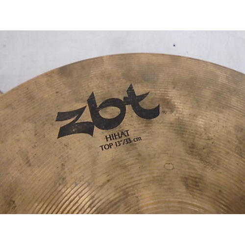 used zildjian 13in zbt hi hat pair cymbal 31 guitar center. Black Bedroom Furniture Sets. Home Design Ideas
