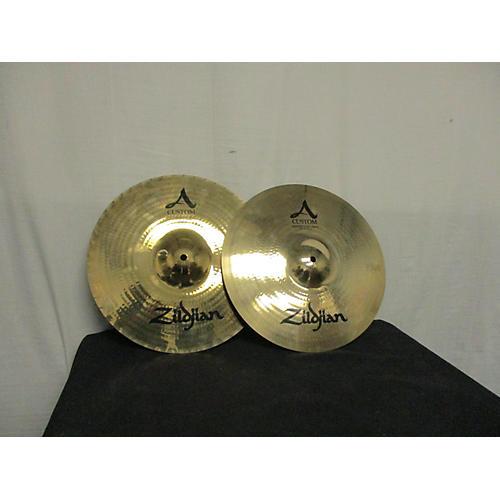 Zildjian 14.25in A Custom Mastersound Hi Hat Pair Cymbal
