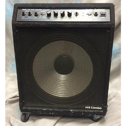 used hartke 1400 140 watt bass combo amp guitar center. Black Bedroom Furniture Sets. Home Design Ideas