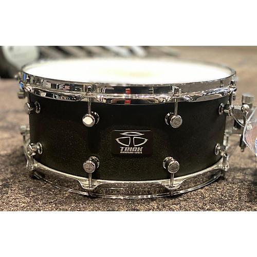 Trick 14X6.5 Custom Aluminum Cast Black Star Vent Drum