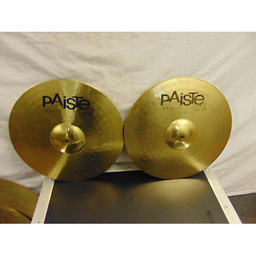 Paiste 14in 101 Brass Hi Hats Cymbal