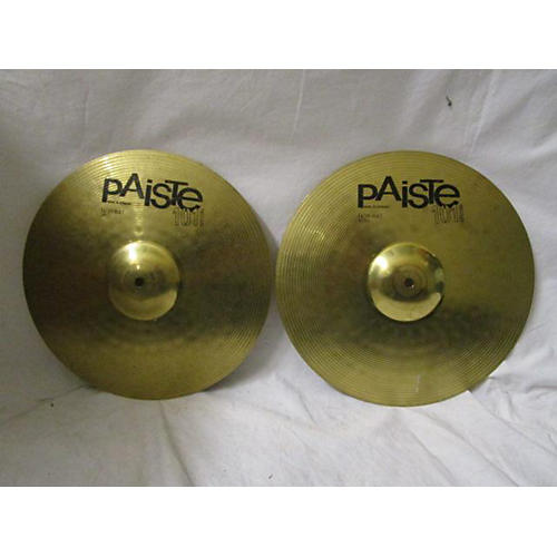 used paiste 14in 101 special hi hat pair cymbal 33 guitar center. Black Bedroom Furniture Sets. Home Design Ideas