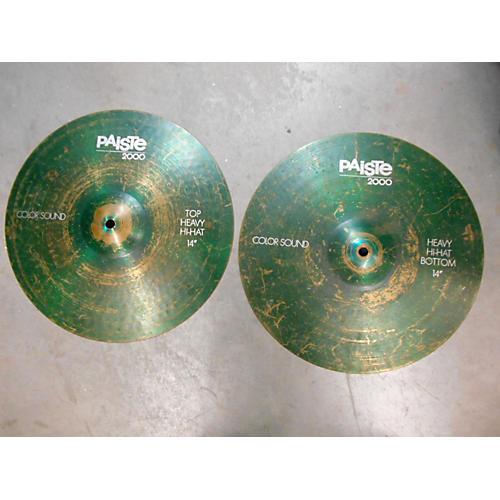 Paiste 14in 2000 Series Colorsound Hi Hat Pair Cymbal