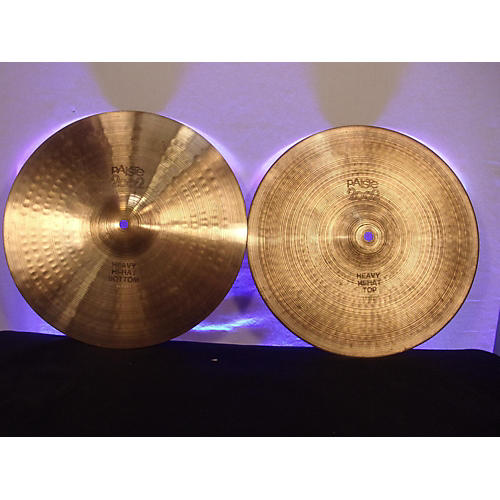 Paiste 14in 2002 Heavy Hi-hat Pair Cymbal