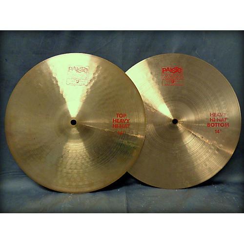 Paiste 14in 2002 Heavy Hihats Pair Cymbal