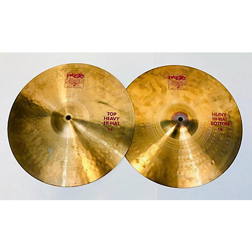 Paiste 14in 2002 Heavy Pair Cymbal