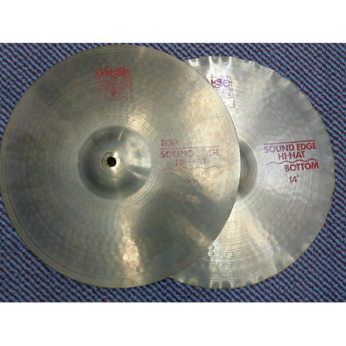 Paiste 14in 2002 Sound Edge Hats Pair Cymbal