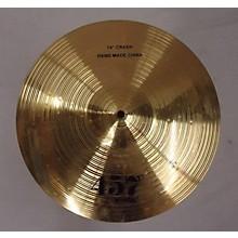Wuhan 14in 457 Crash Cymbal