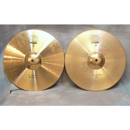 Paiste 14in 502 Bronze Cymbal