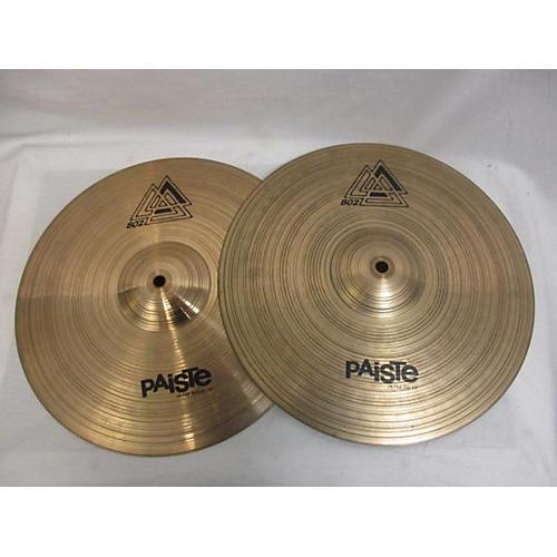 Paiste 14in 802 Hi-hat Pair Cymbal