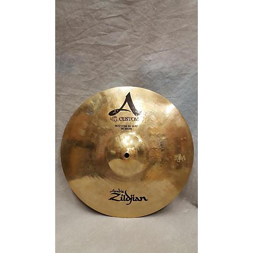 Zildjian 14in A Custom Hi Hat Bottom Cymbal