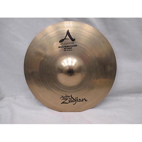 Zildjian 14in A Custom Mastersound Hi Hat Pair Cymbal
