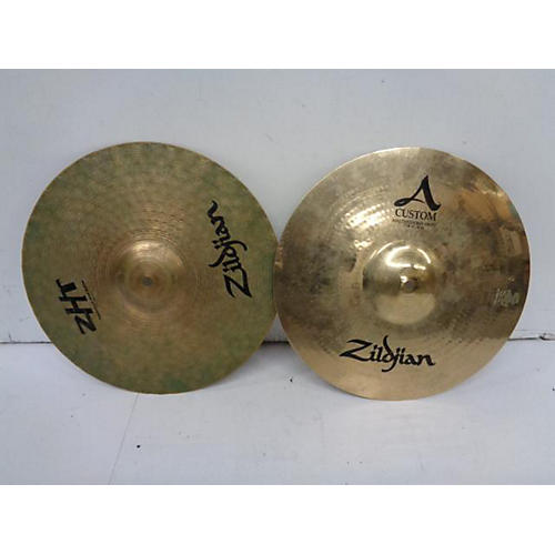 Zildjian 14in A Custom Mixed Matched Hi Htas Cymbal