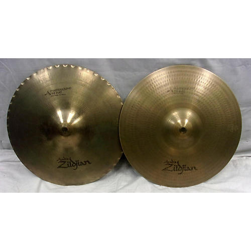 used zildjian 14in a mastersound hi hat pair cymbal 33 guitar center. Black Bedroom Furniture Sets. Home Design Ideas