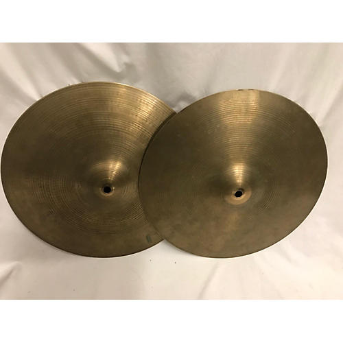 used zildjian 14in a series hi hat pair cymbal 33 guitar center. Black Bedroom Furniture Sets. Home Design Ideas