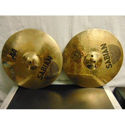 Sabian 14in AA Fusion Hi Hat Pair Cymbal