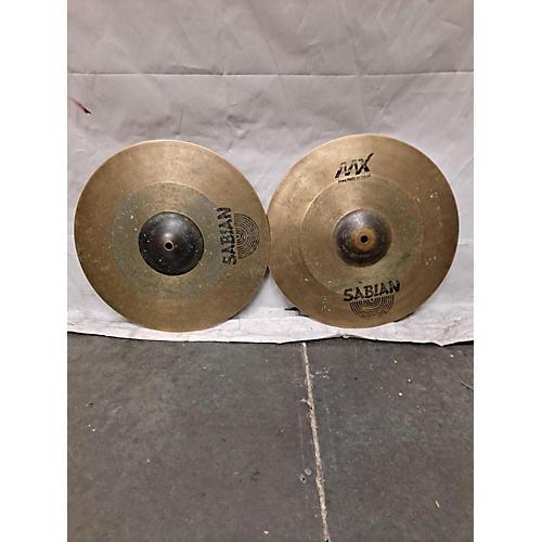 Sabian 14in AAX FREQUENCY HI HATS PAIR Cymbal