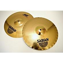 Sabian 14in AAX X Celerator Hi Hat Pair Brilliant Cymbal