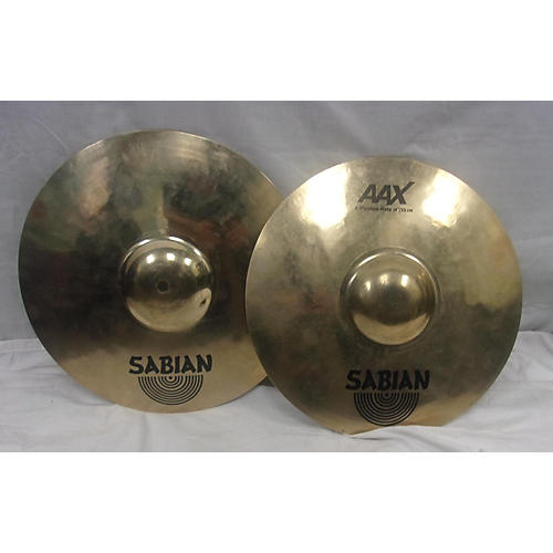 used sabian 14in aax xplosion hi hat pair cymbal 33 guitar center. Black Bedroom Furniture Sets. Home Design Ideas