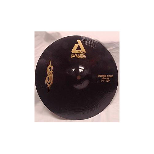Paiste 14in ALPHA BLACK SLIPKNOT HI HAT TOP Cymbal