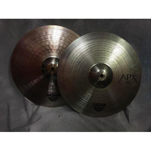 Sabian 14in APX Hi Hat Pair Cymbal