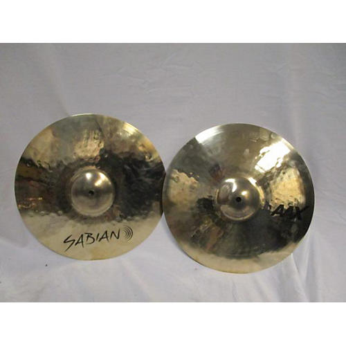 used sabian 14in aax medium high hats cymbal 33 guitar center. Black Bedroom Furniture Sets. Home Design Ideas