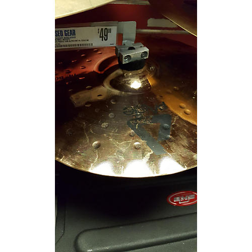 Paiste 14in Alpha Metal Edge Bottom Cymbal