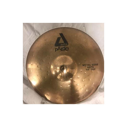 Paiste 14in Alpha Metal Edge Hi-Hat Cymbal